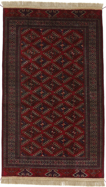 Yomut Buchara Turkmenischer Teppich Bkh033 23524 Carpetu2