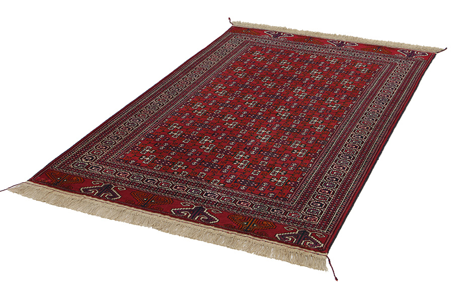 Yomut Buchara Turkmenischer Teppich Bkh101 24485 Carpetu2