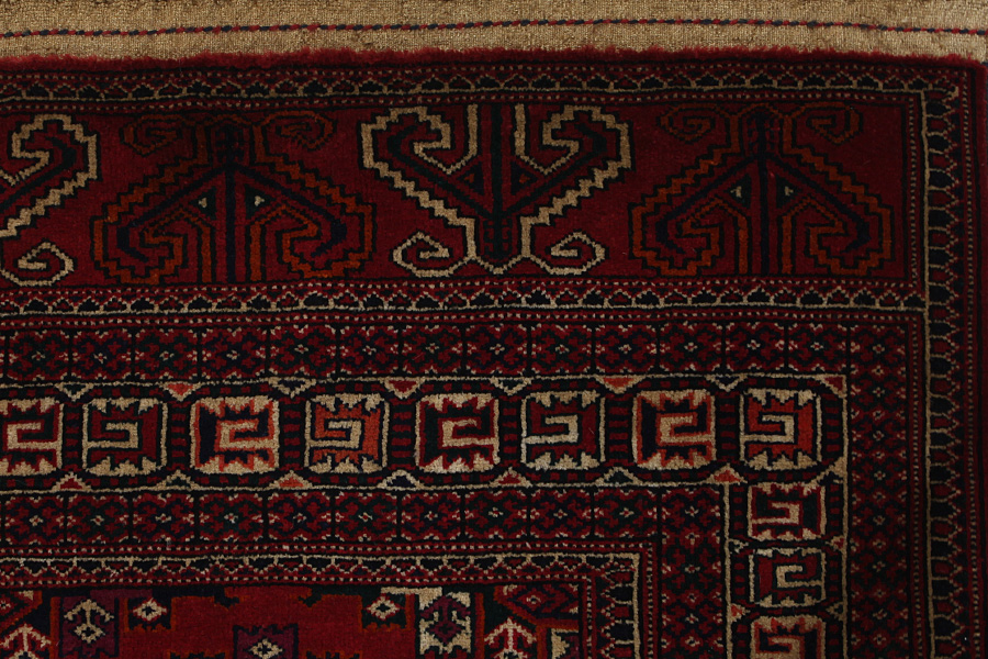 Yomut Buchara Turkmenischer Teppich Bkh110 24351 Carpetu2