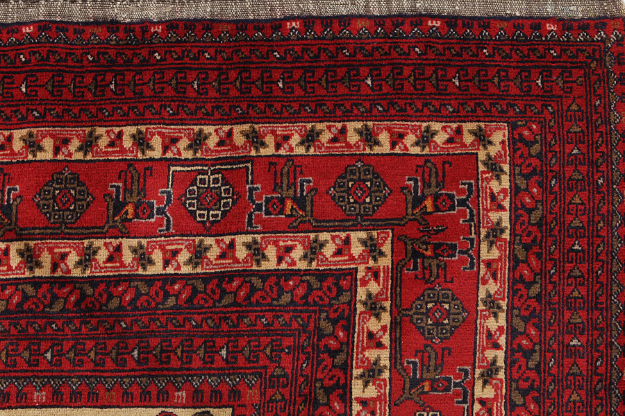 Buchara  old Afghanischer Teppich  bkh17820  CarpetU2